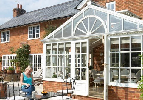 recent project for conservatories in Waterloo